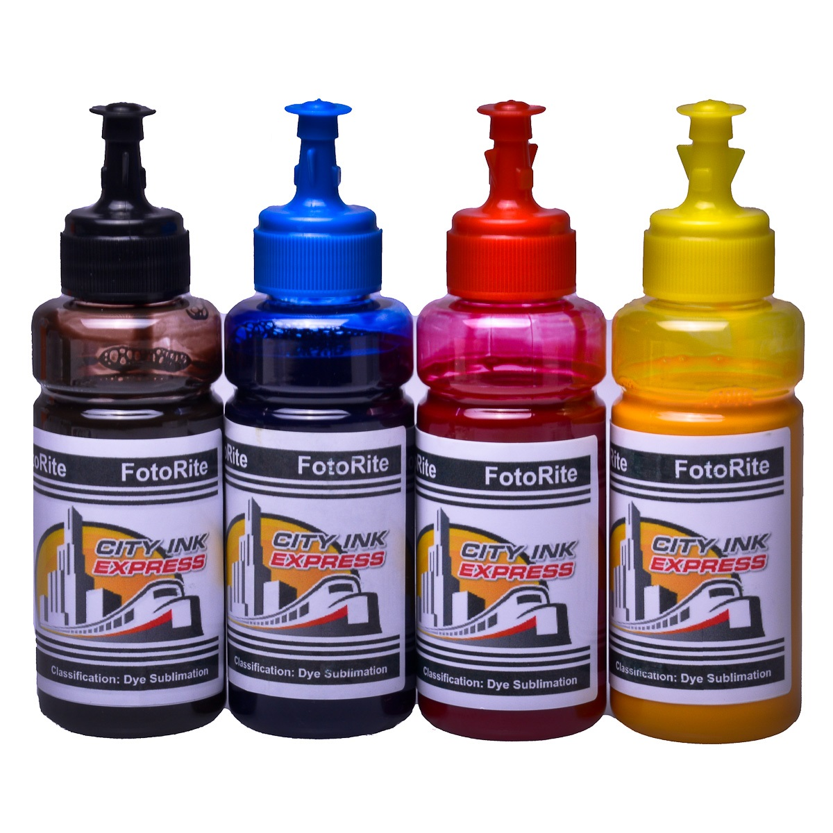 Dye sublimation ink cartridge Bundle fits Epson XP-245 XP-247 XP-342 XP-345