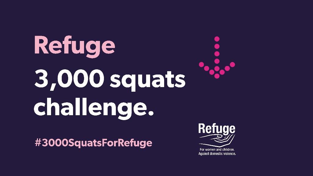 3000 squats challenge