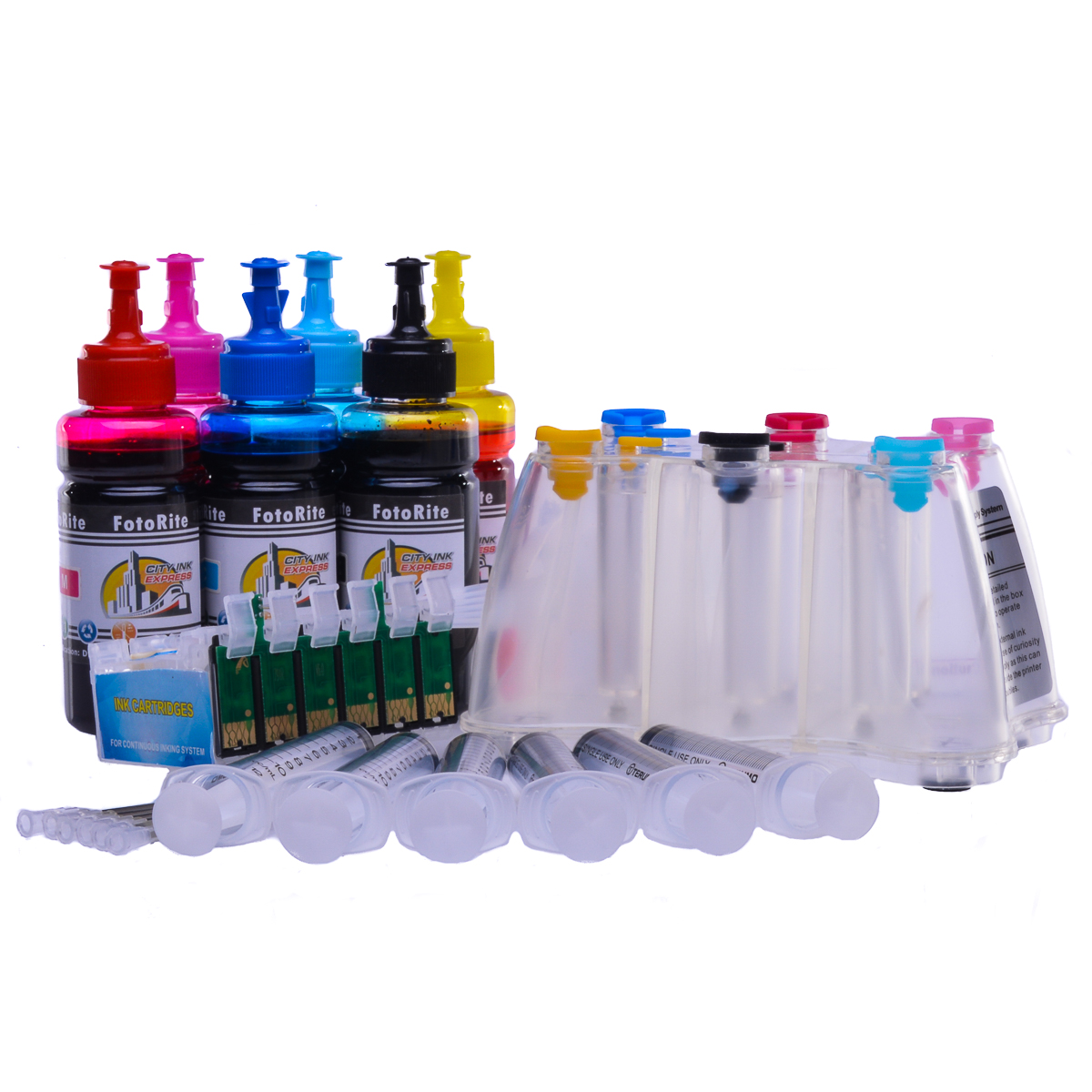 Ciss for Epson R1400, dye ink