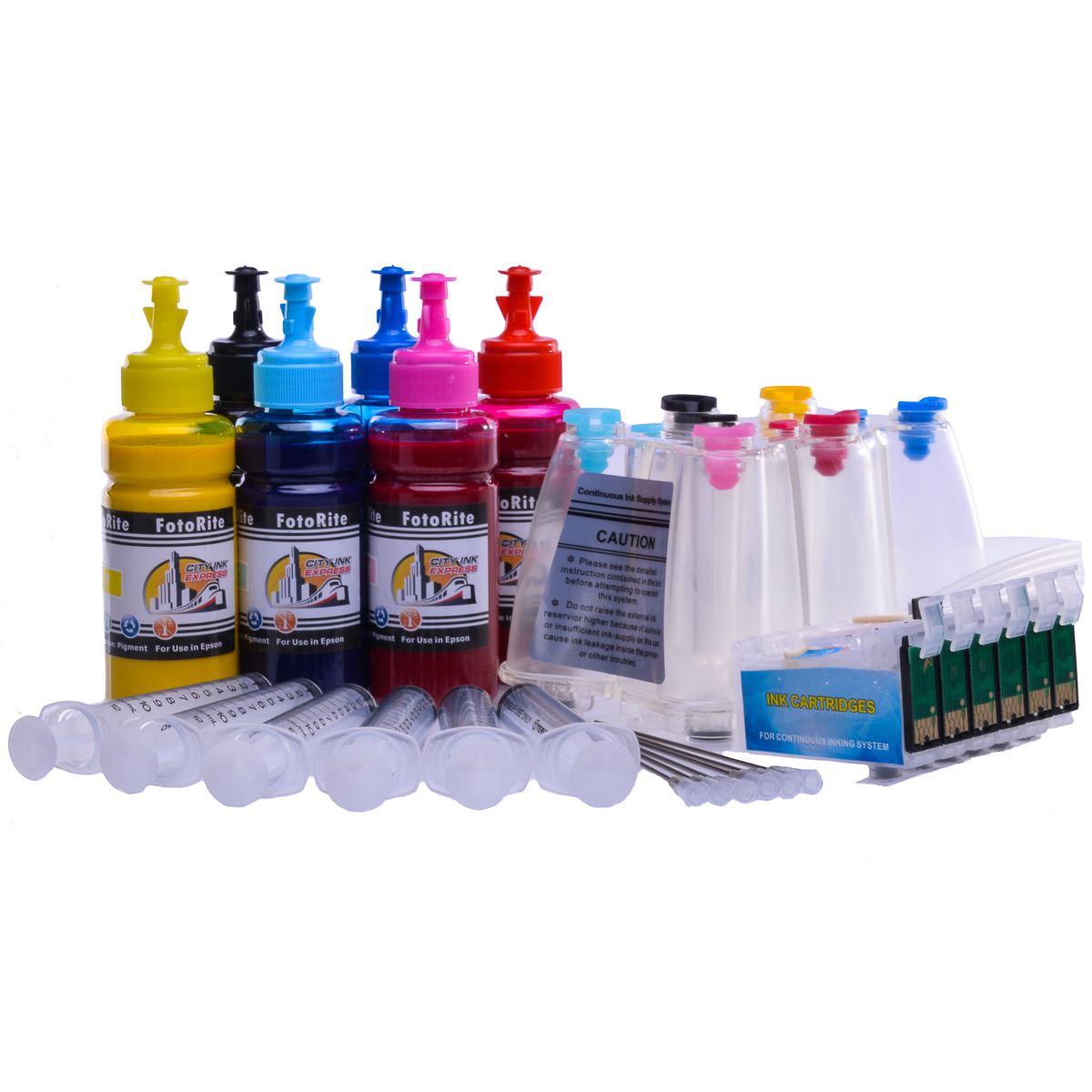 Ciss for Epson R1400, pigment ink