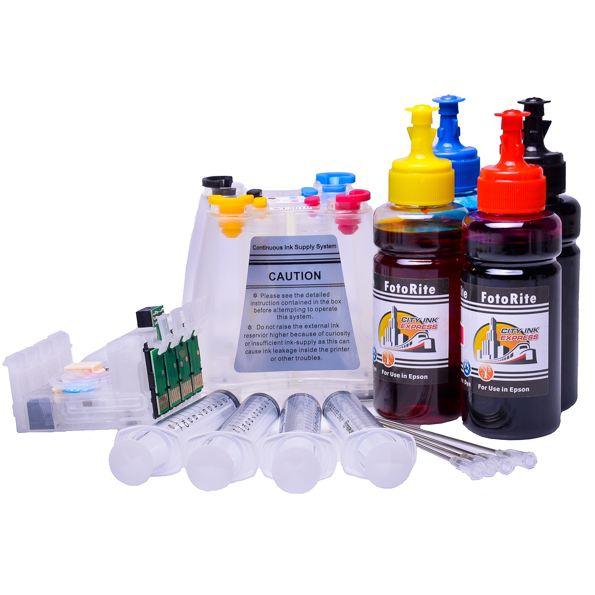 Ciss for Epson WF-3010 DW, dye ink