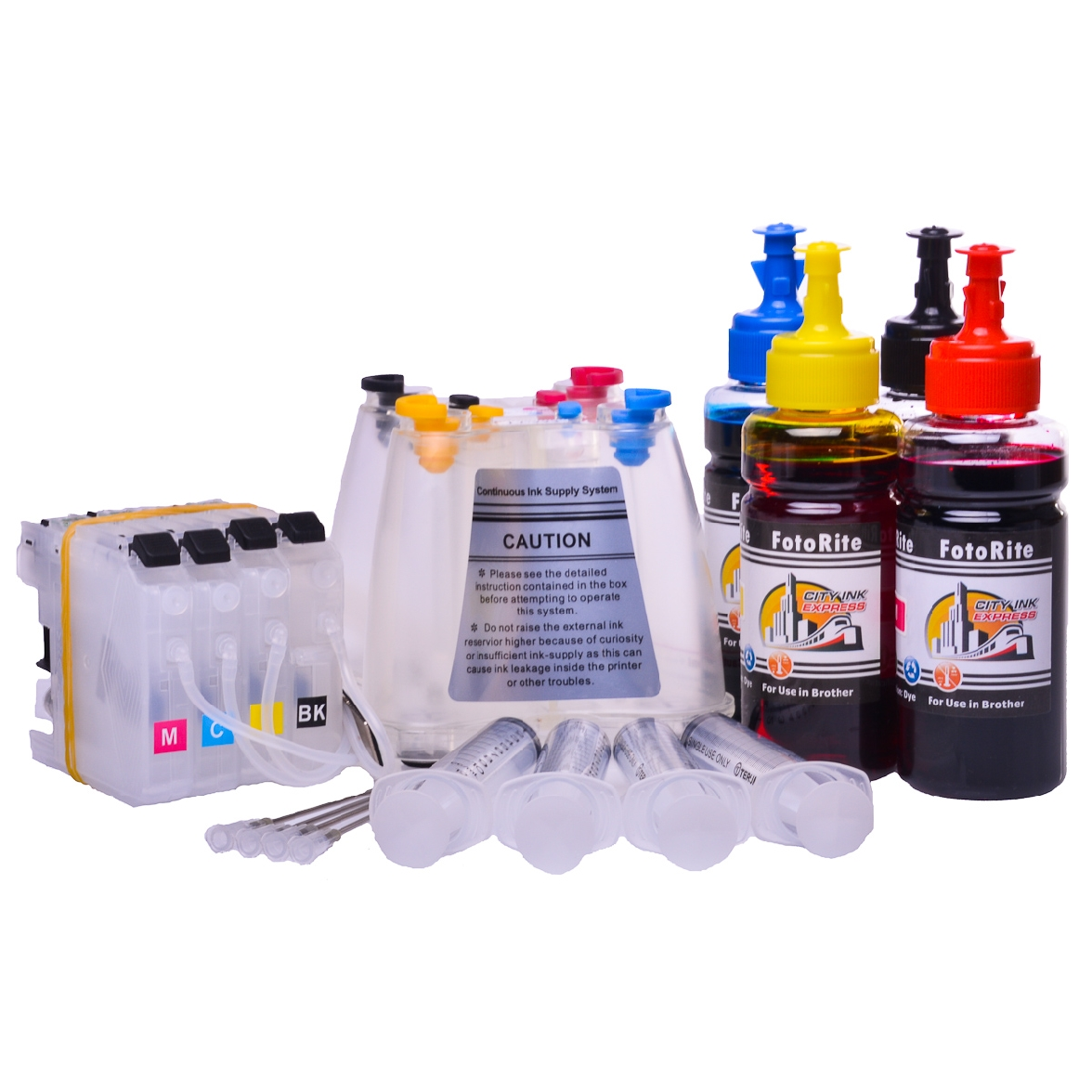 Ciss for Brother DCP-J152W, dye ink