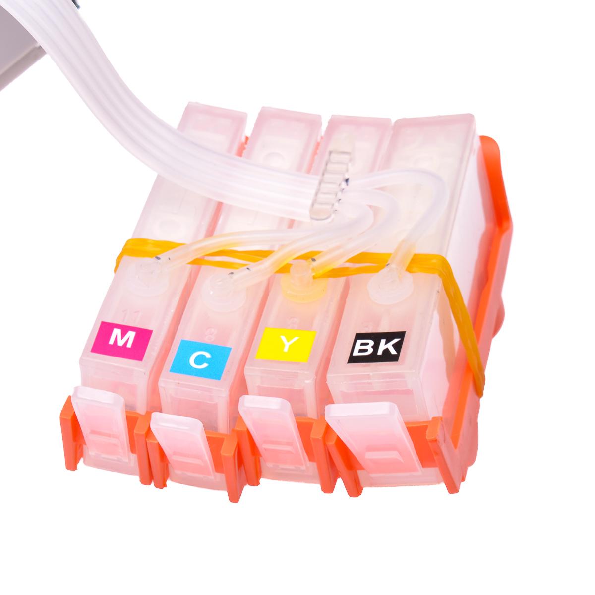 Ciss for HP Photosmart 5514, dye ink #3