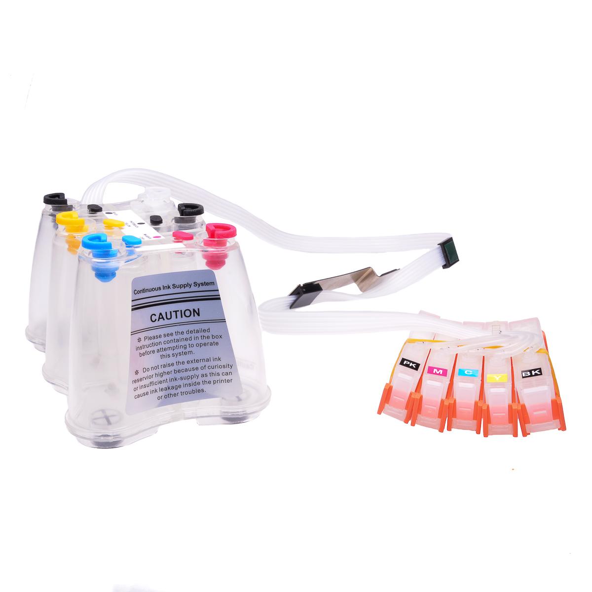 Ciss for HP Photosmart C309h, dye ink #3