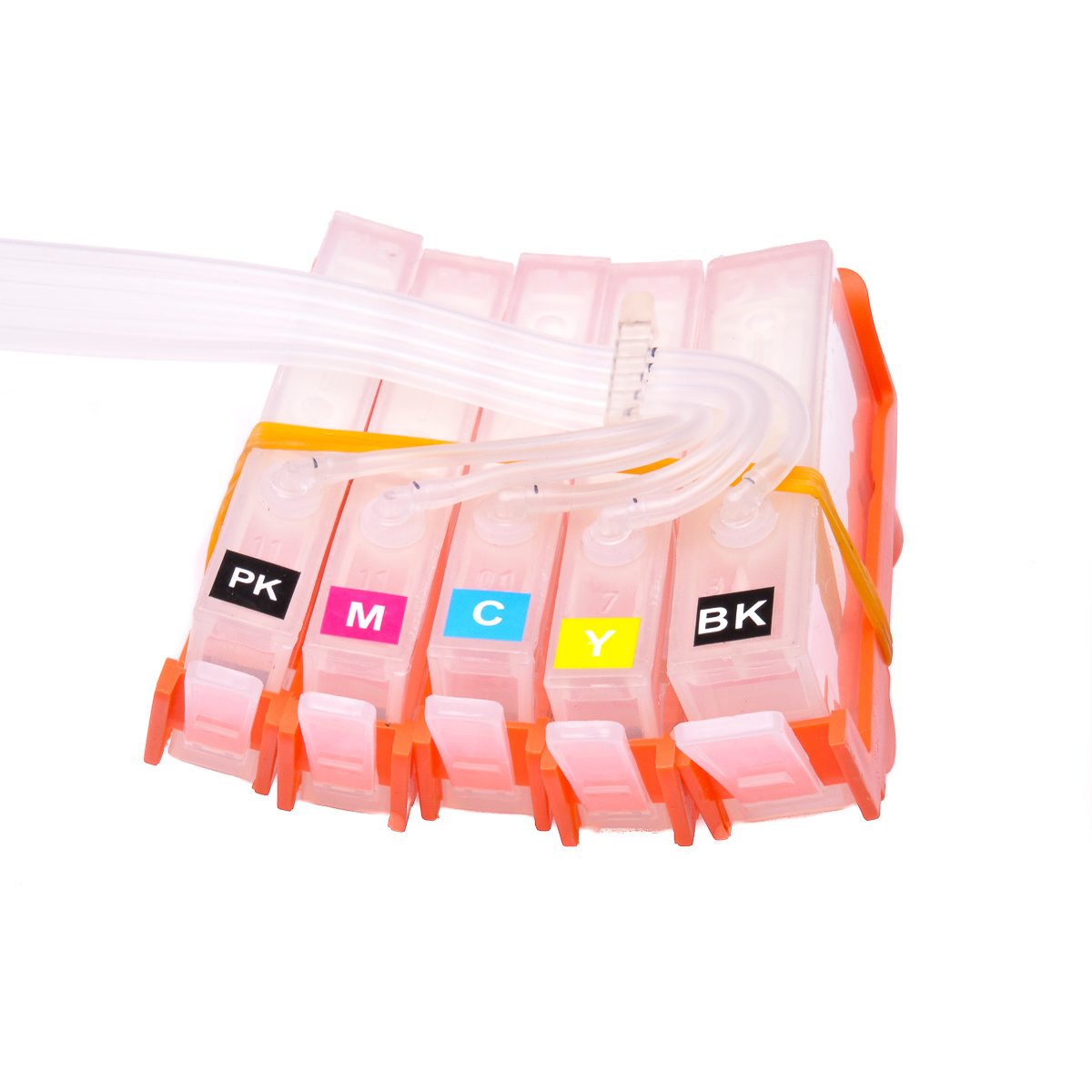 Ciss for HP Photosmart C309h, dye ink #4