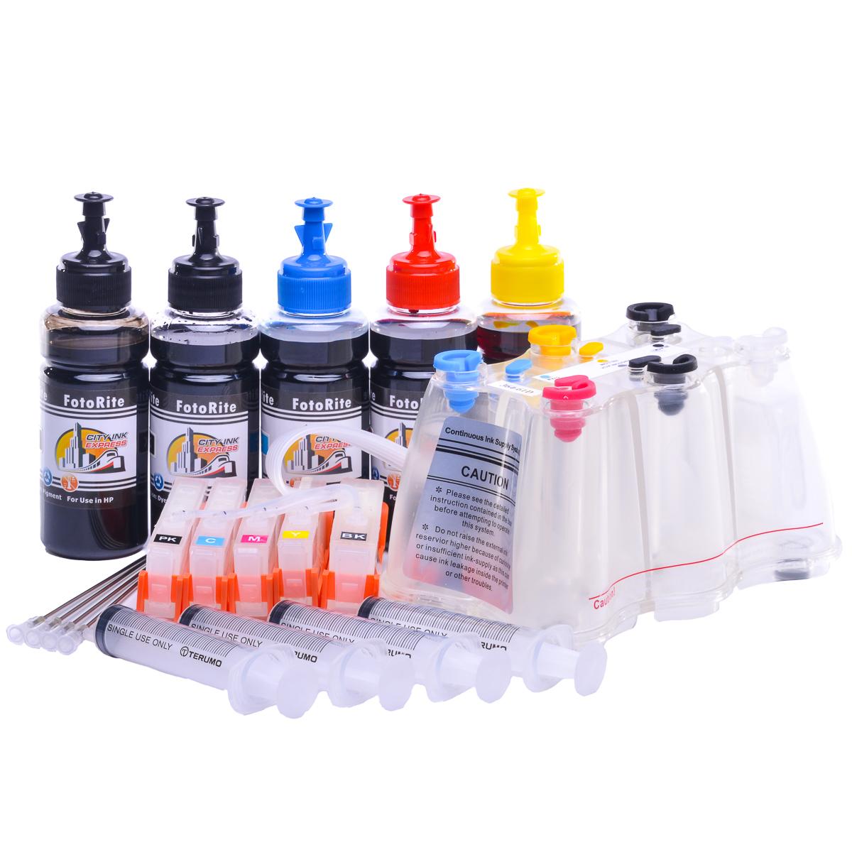 Ciss for HP Photosmart C410D printers |  Dye Ink