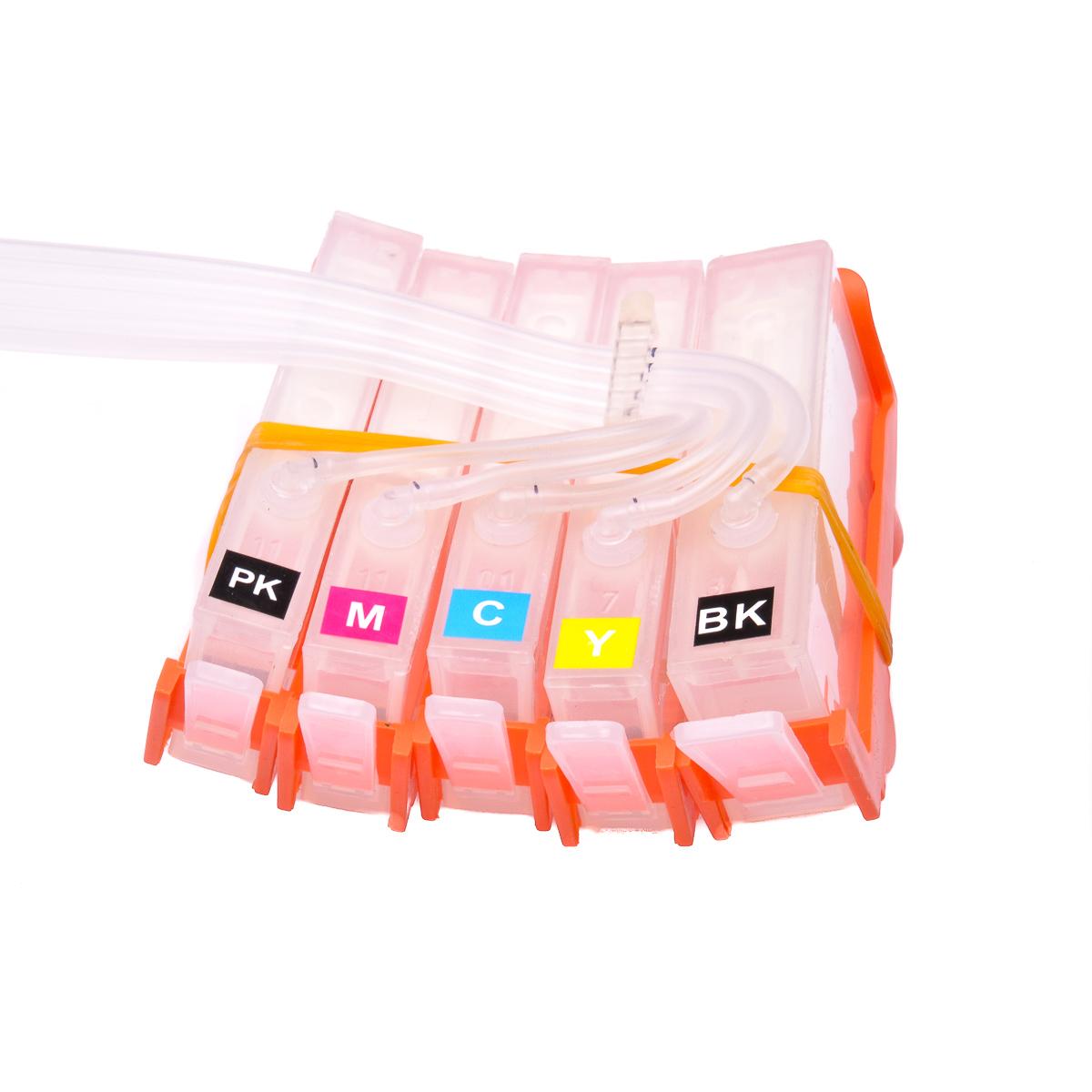 Ciss for HP Photosmart C410D, dye ink #4