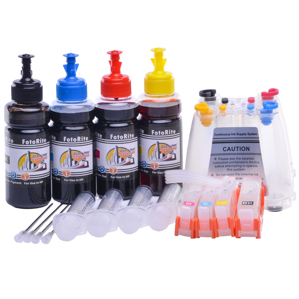 Ciss for HP Photosmart printer: HP Photosmart Photosmart B211a | Dye Ink