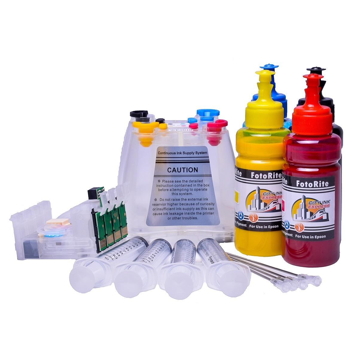 Ciss for Epson WF-2510WF, pigment ink