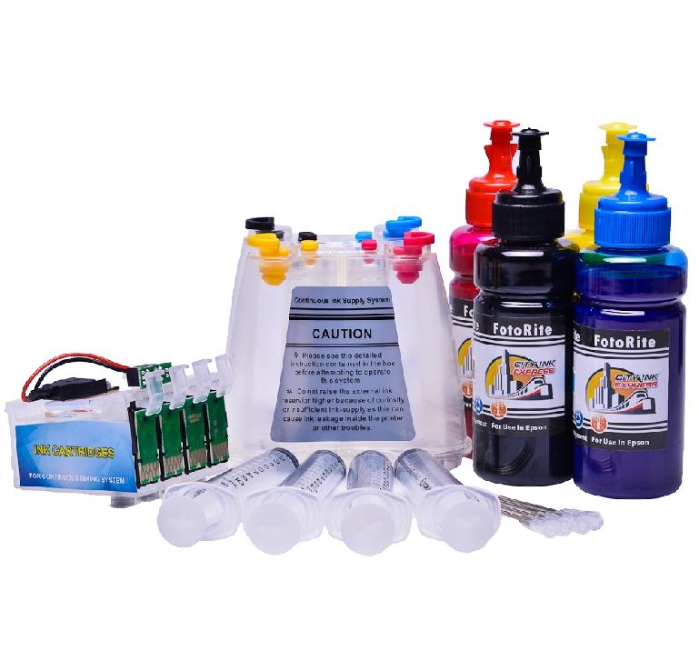 Ciss for Epson WF-7610DWF printers |  Pigment Ink
