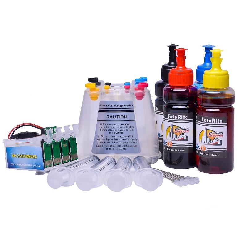 Ciss for Epson WF-2660DWF, dye ink