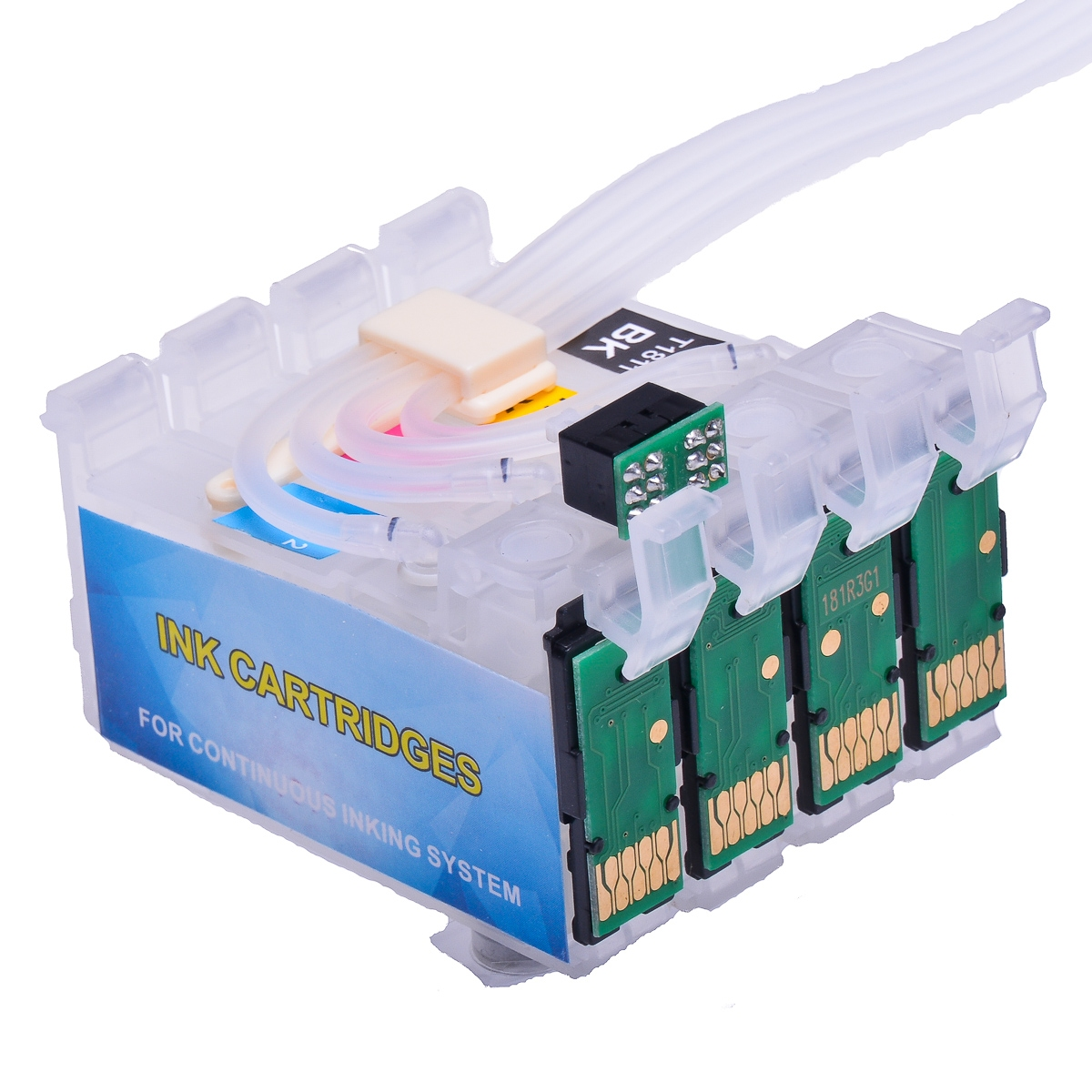 Ciss for Epson WF-2660DWF, pigment ink #4