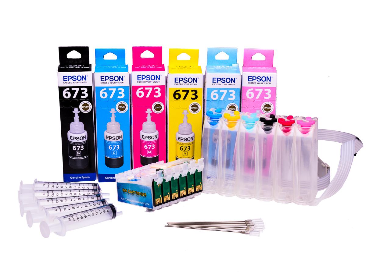 Ciss for Epson R1400 printers |  Epson Original Ink