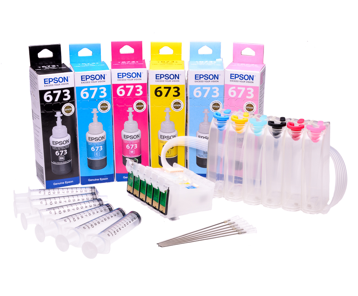 Ciss for Epson P50, with Epson Genuine Ink