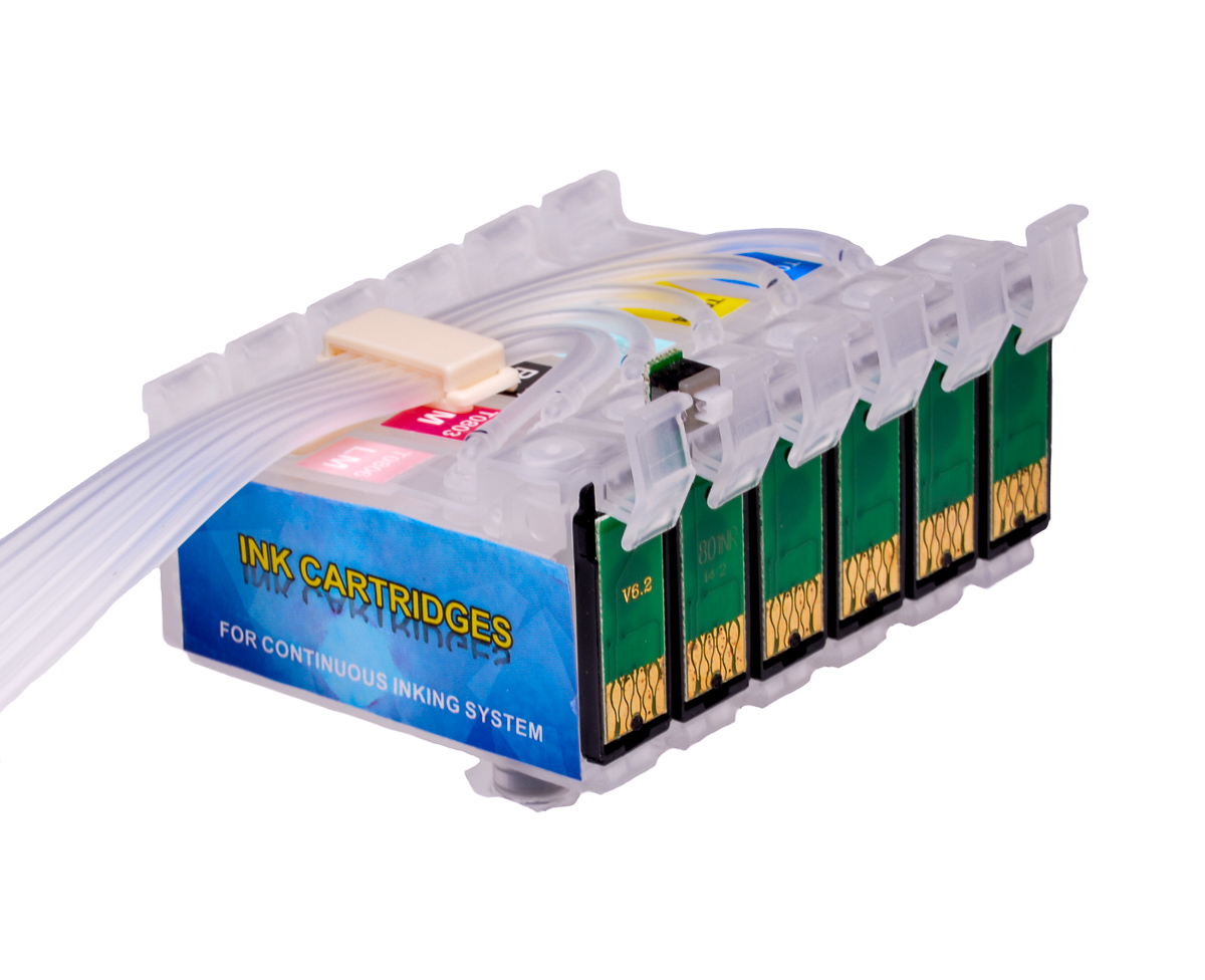 Ciss for Epson PX800FW, with Epson Genuine Ink #3