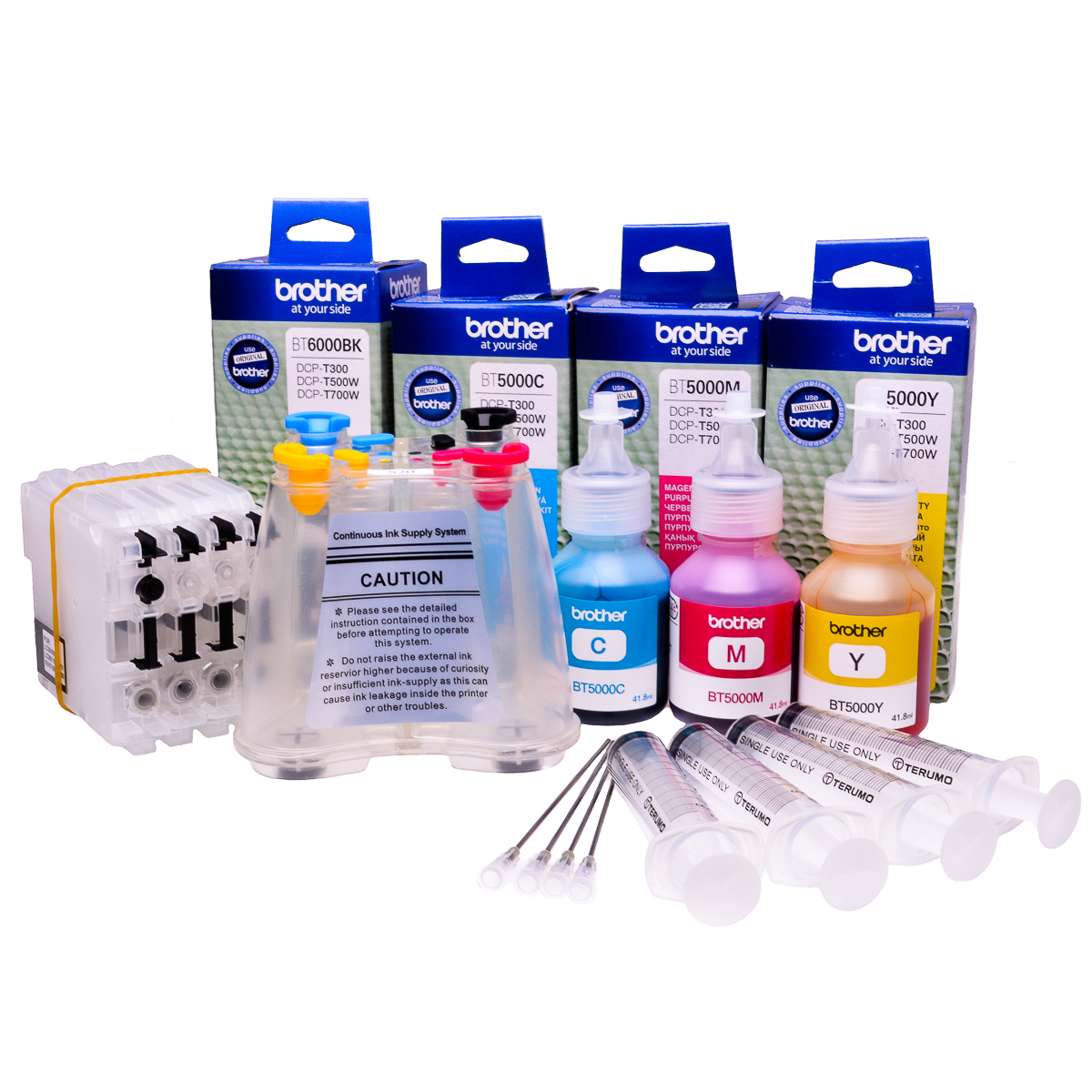 Ciss for Brother DCP-J562DW, original dye and pigment