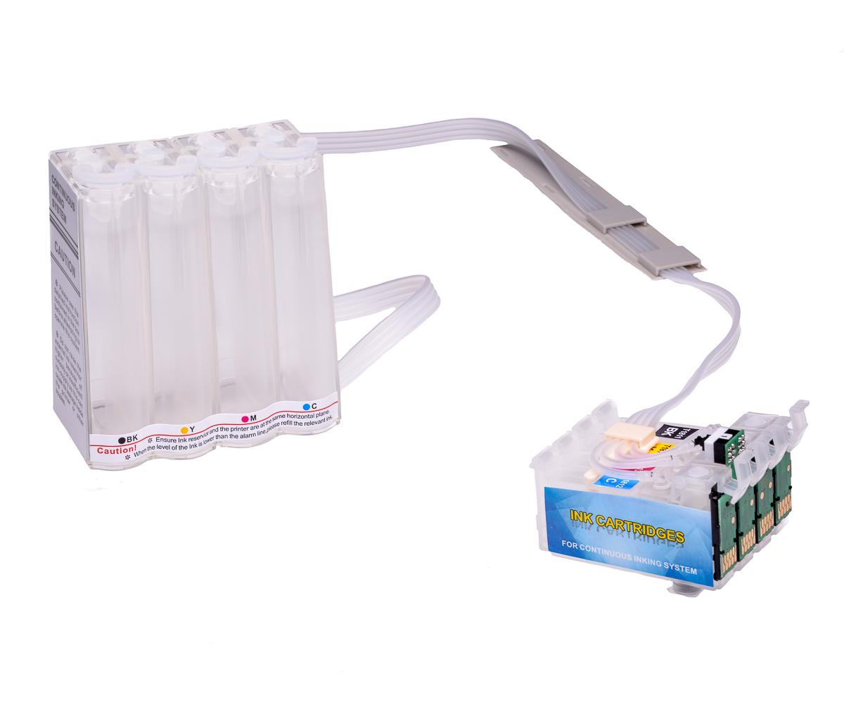 Ciss for Epson XP-245, with Epson Genuine Ink #4