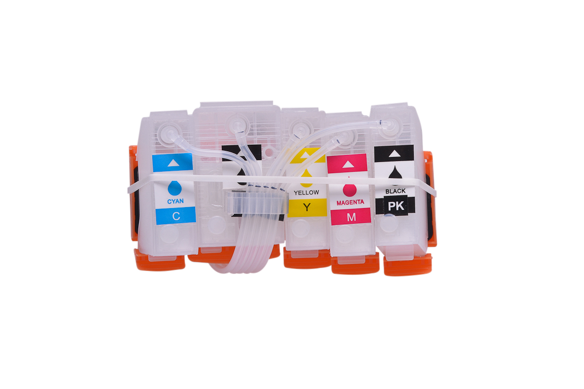 Ciss for Epson XP-6100, dye and pigment ink #3