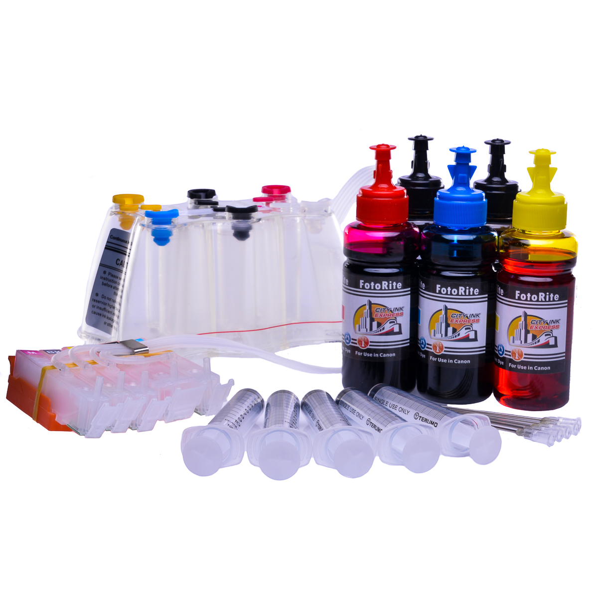 Ciss for Canon MG5420, dye and pigment ink