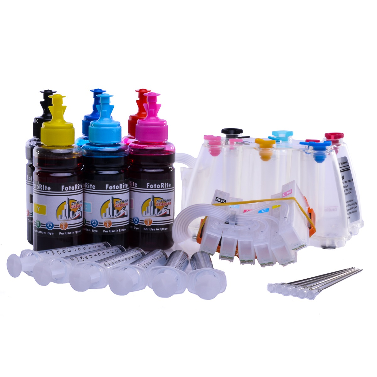 Ciss for Epson XP-970, dye ink