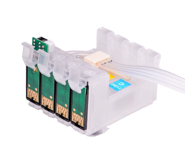 Ciss for Epson WF-4740DTWF, with Epson Genuine Ink #3