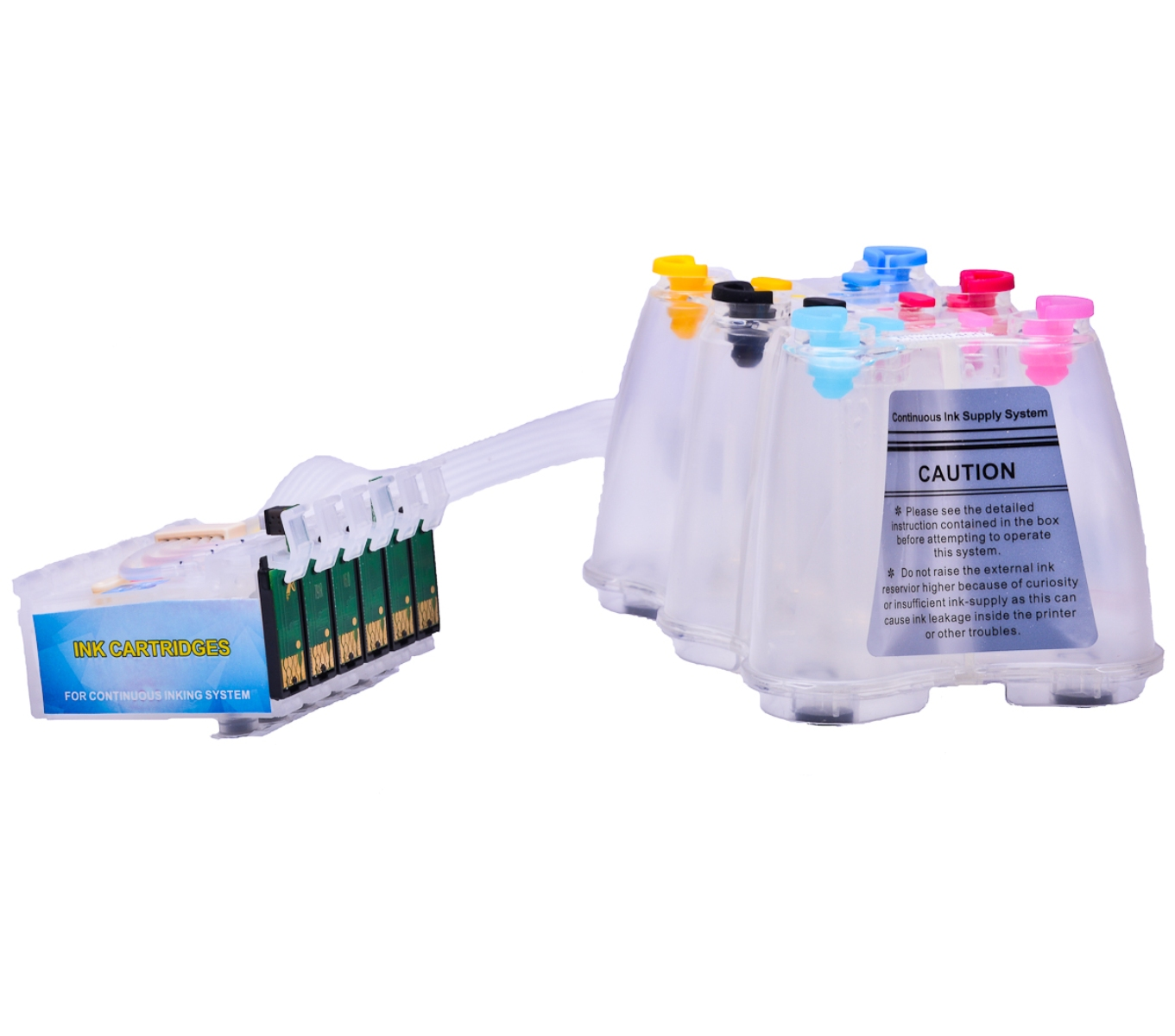 Ciss for Epson PX810W, dye ink #4