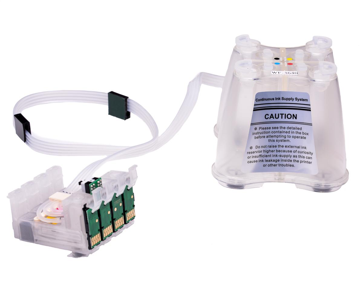 Dye Sublimation ink system - Fits Epson WF-7720DTWF Printer