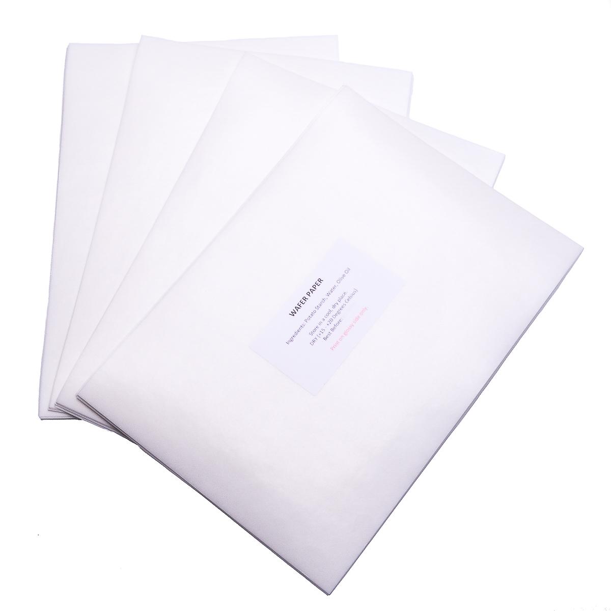 50 wafer paper,templates refillable cartridges EDIBLE PRINTER KIT edible ink