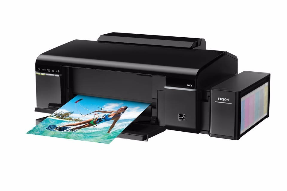 Continuous ink system printer bundle for the Epson L805 Eco Tank A4 printer #2
