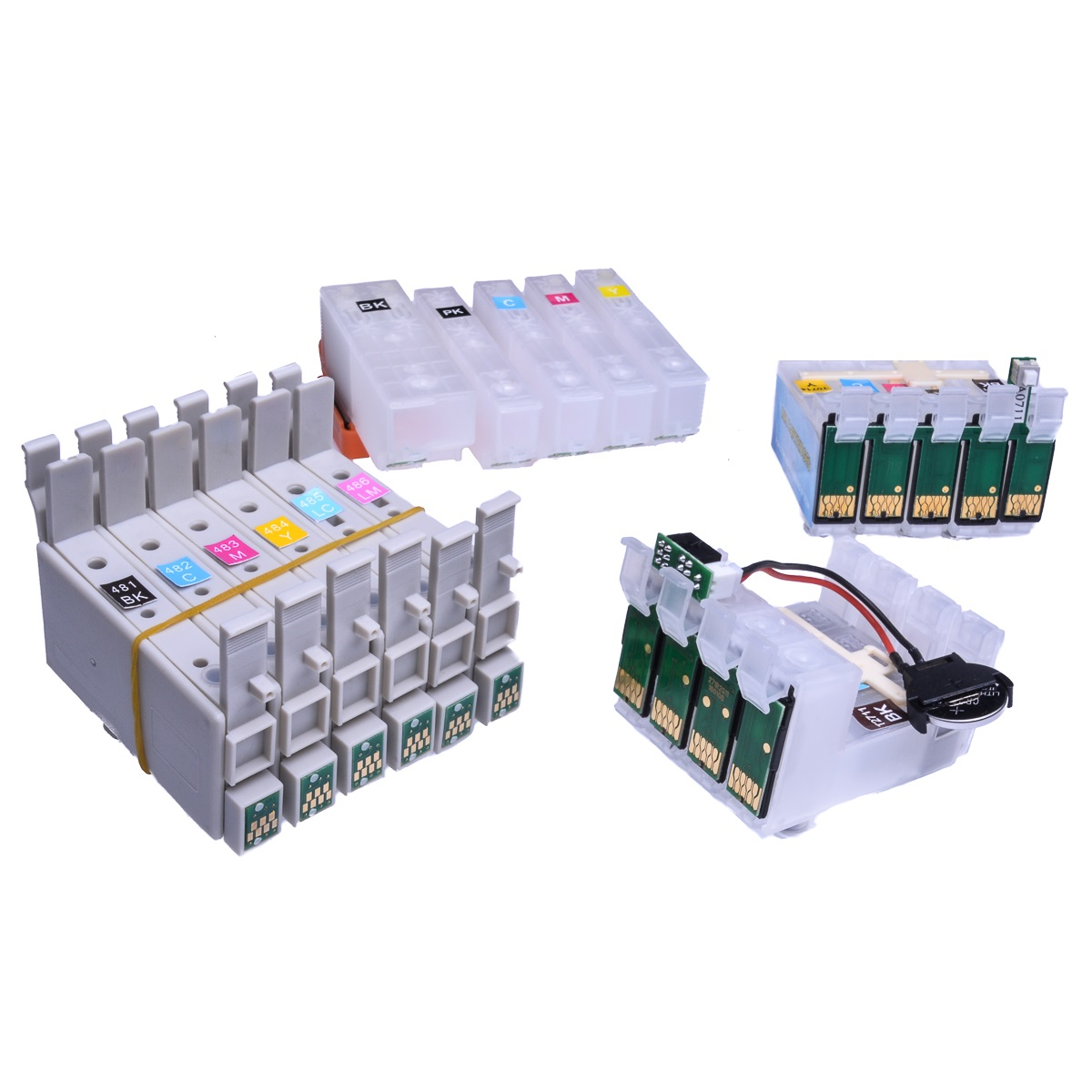 Auto Reset Ink Cartridge fits Epson XP-245 Continuous Ink Systems