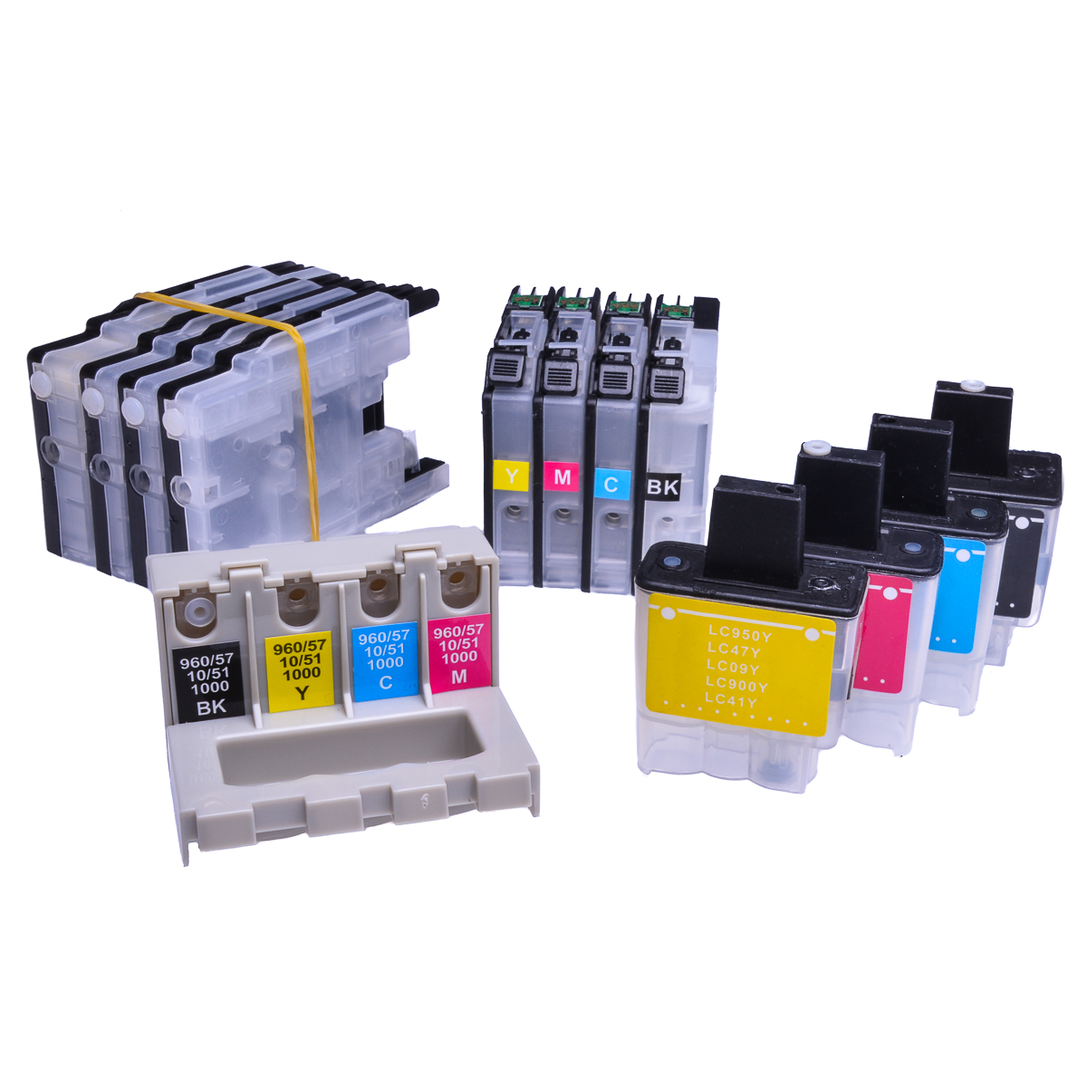 Auto Reset Ink Cartridge fits Brother DCP-J715W Continuous Ink Systems