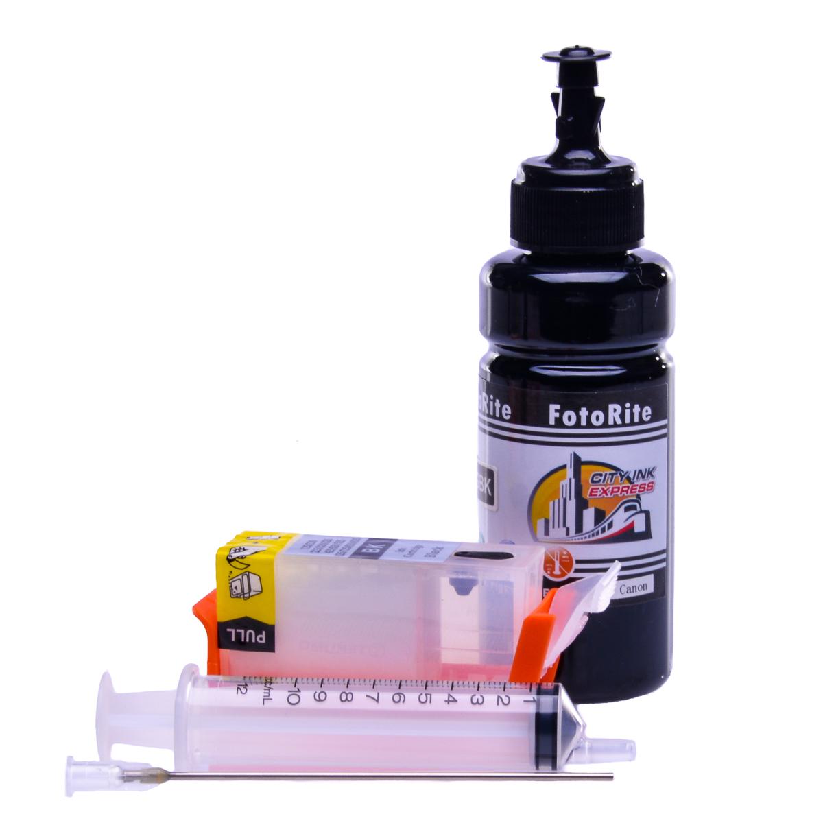 Refillable pigment Cheap printer cartridges for Canon Pixma MG5350 2932B001AA PGI-525BK Pigment Black