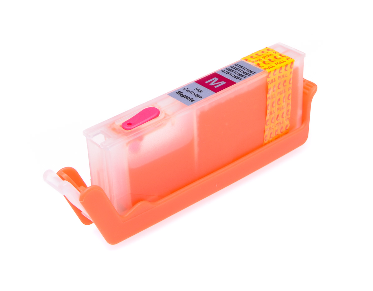 Magenta printhead cleaning cartridge for Canon Pixma MG6350 printer