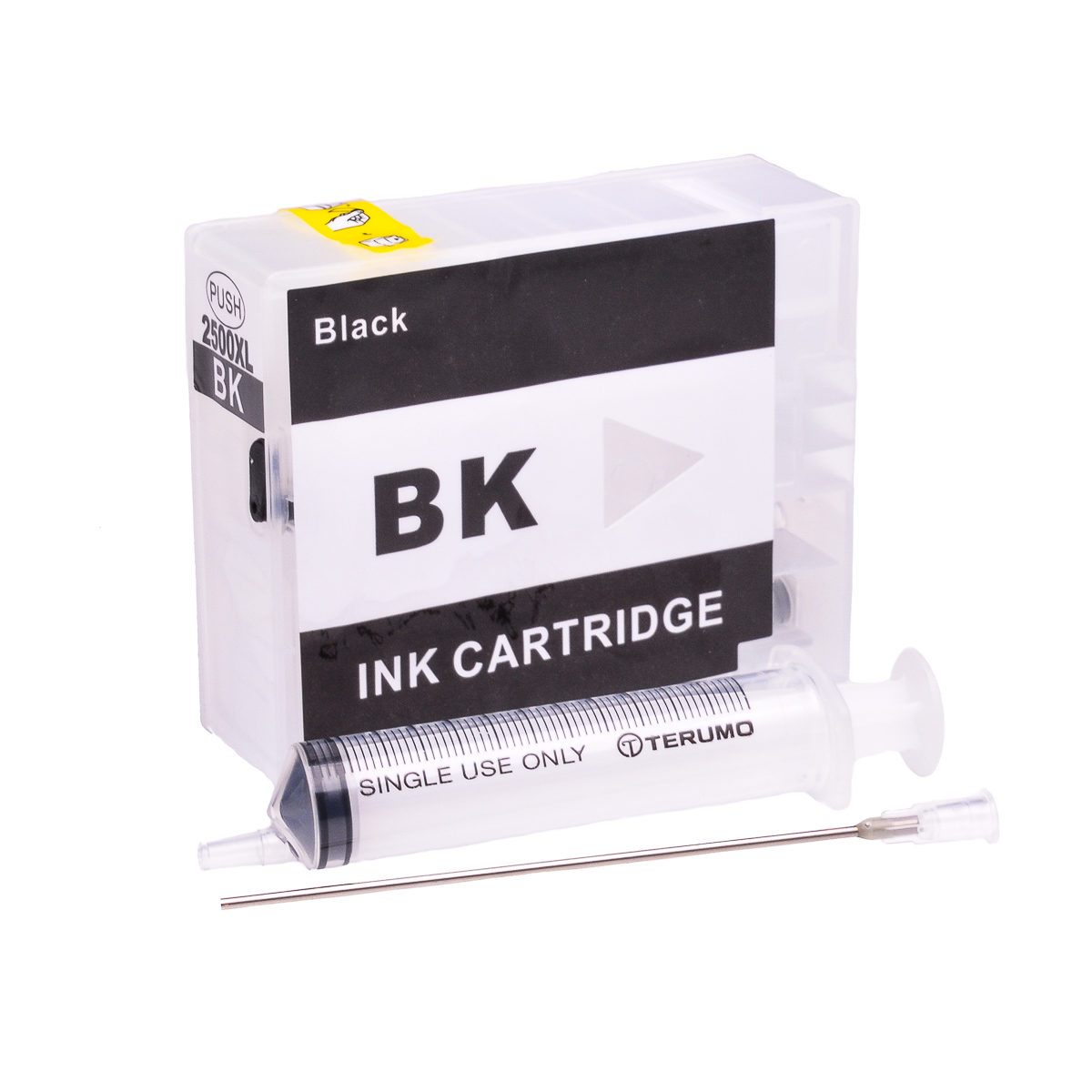 Empty Refillable PGI-2500XL-BK Black Cheap printer cartridges for Canon MB5155 9254B001AA