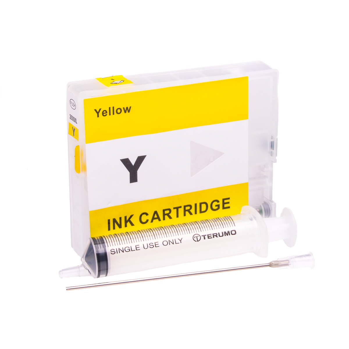 Empty Refillable PGI-2500XL-Y Yellow Cheap printer cartridges for Canon MB5155 9285B001AA