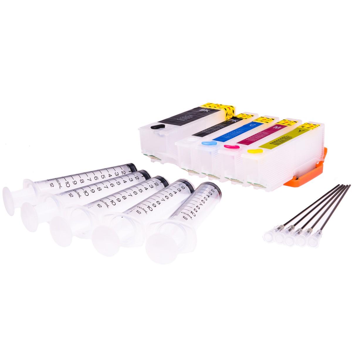 Empty Refillable T3346 Multipack Cheap printer cartridges for Epson XP-540 C13T33574010