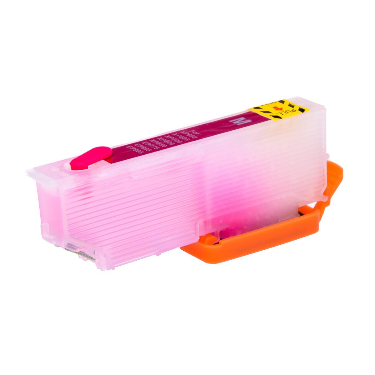 Magenta printhead cleaning cartridge for Epson XP-645 printer