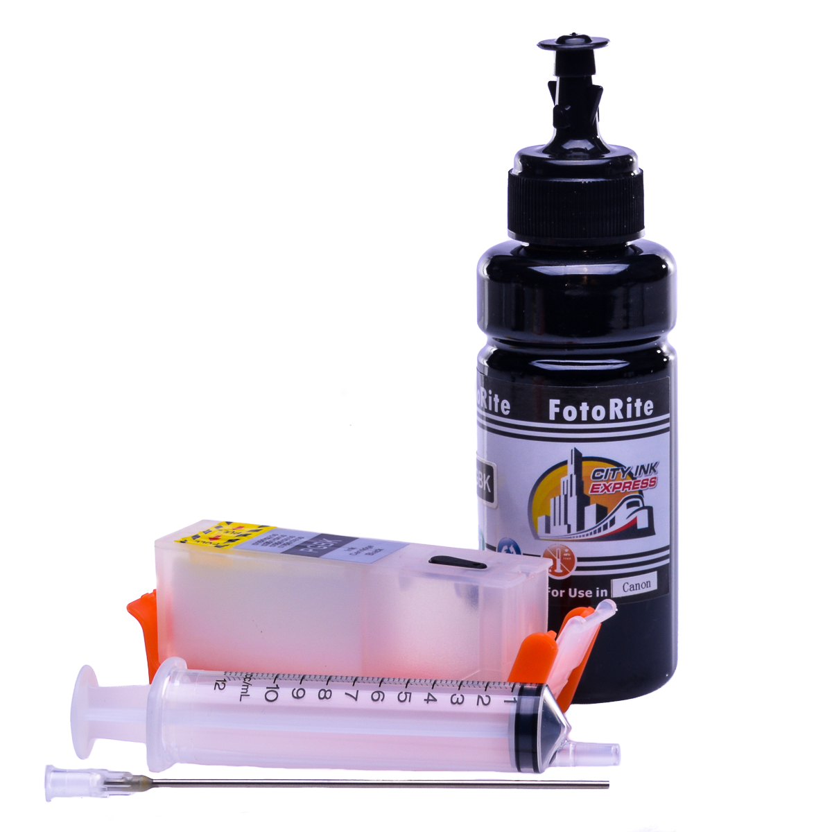 Refillable pigment Cheap printer cartridges for Canon Pixma MG6853 0372C001   Pigment Black