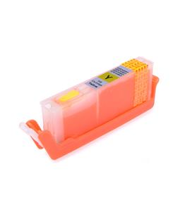 Yellow printhead cleaning cartridge for Canon Pixma TS5055 printer
