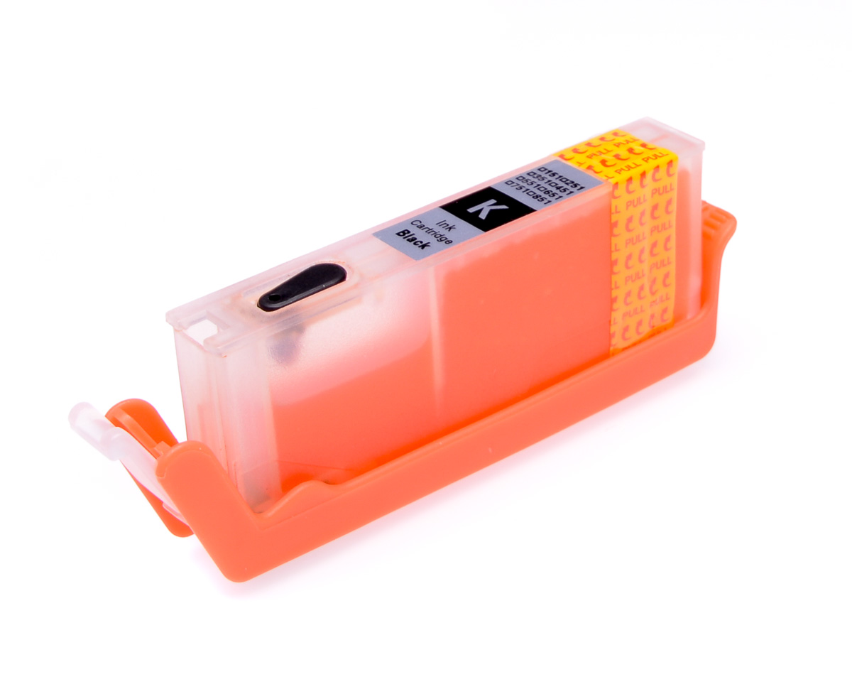 Black printhead cleaning cartridge for Canon Pixma TS8053 printer
