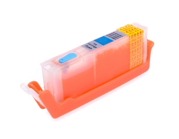 Blue printhead cleaning cartridge for Canon Pixma TS8351 printer