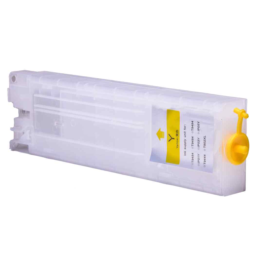 Empty Refillable T9444 Yellow Cheap printer cartridges for Epson WF-C5790DWF T9454