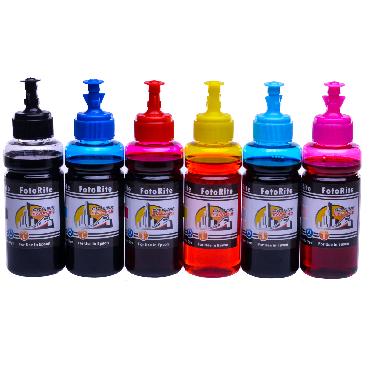 Cheap Multipack dye ink refill replaces Epson Stylus RX560