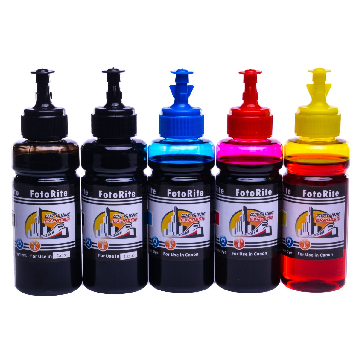 Cheap Multipack dye and pigment refill replaces Canon Pixma IP4600