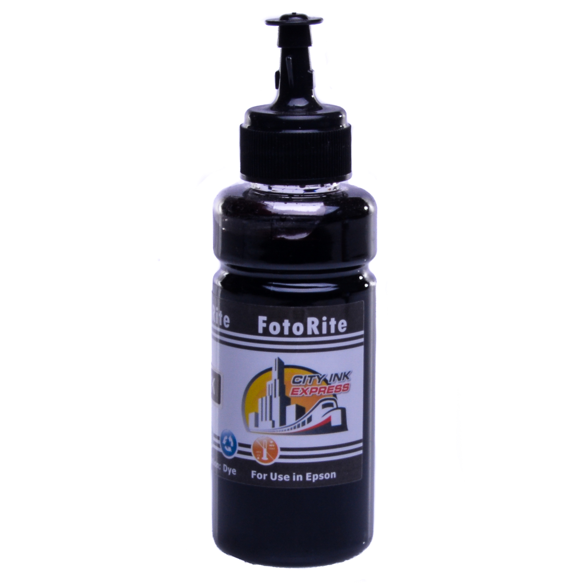 Cheap Black dye ink refill replaces Epson WF-3520dwf - T1301