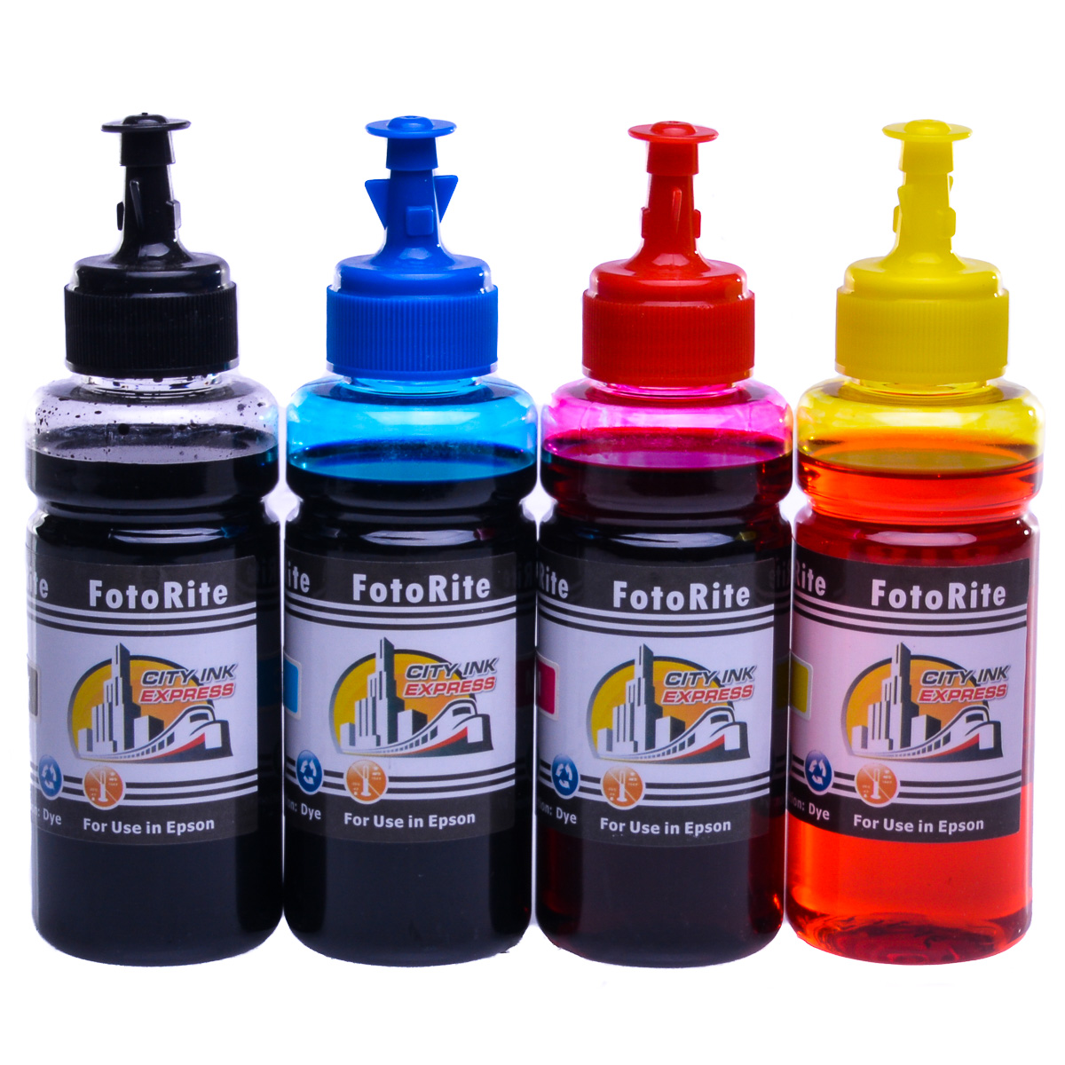 Cheap Multipack dye ink refill replaces Epson WF-3520dwf