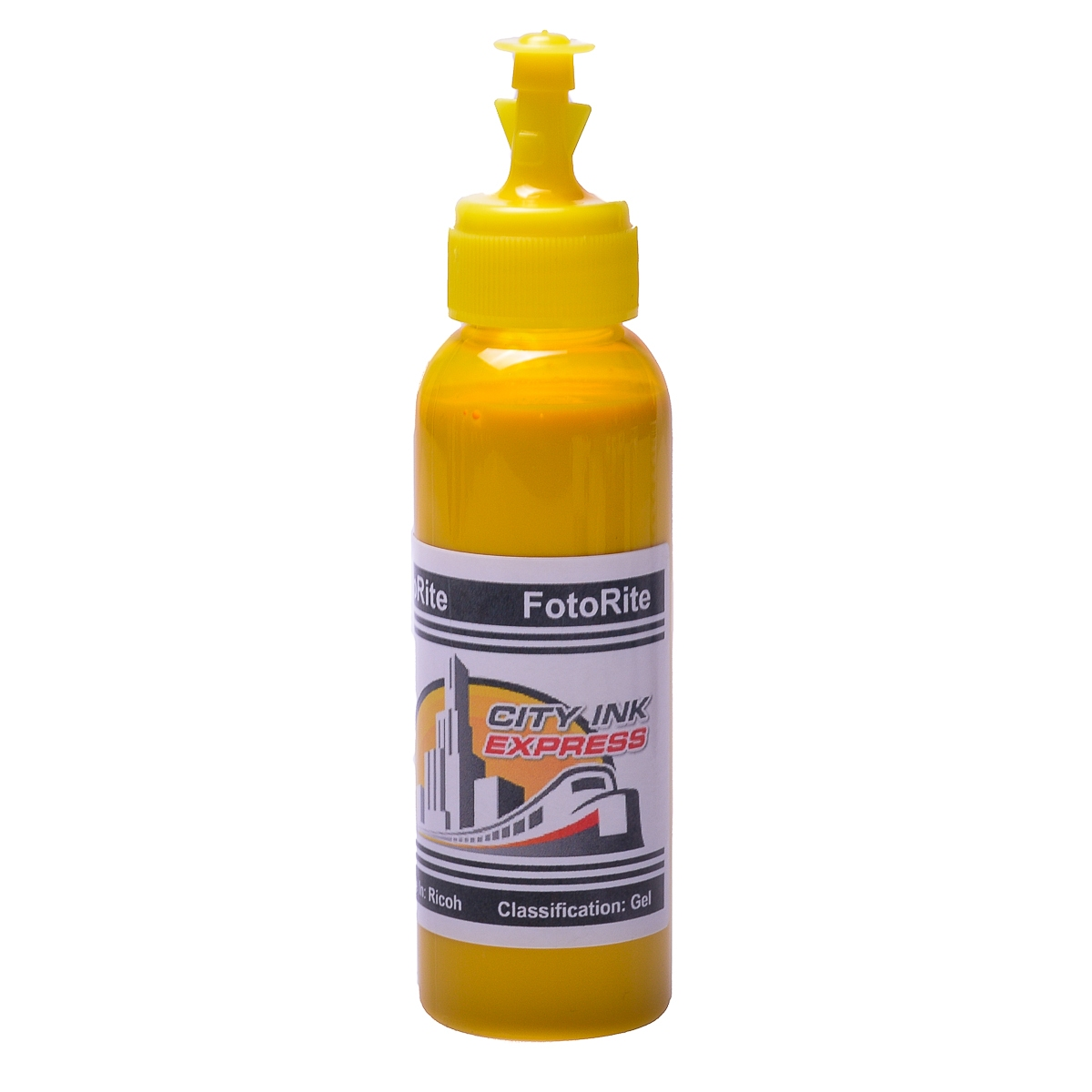 Cheap Yellow pigment ink replaces Ricoh GXe5550N - Ricoh Gel GC31