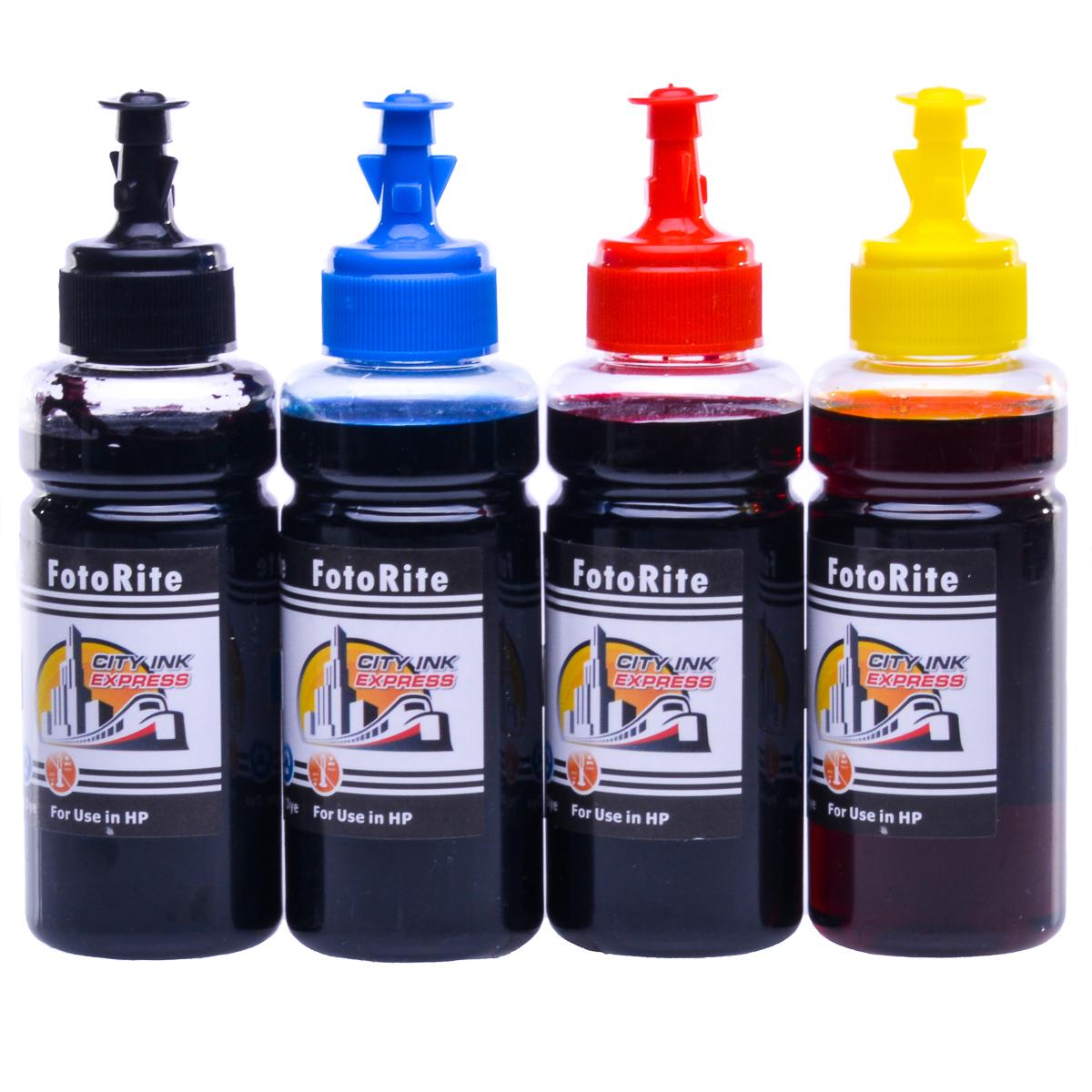 Cheap Multipack dye ink refill replaces HP Officejet Officejet 4610