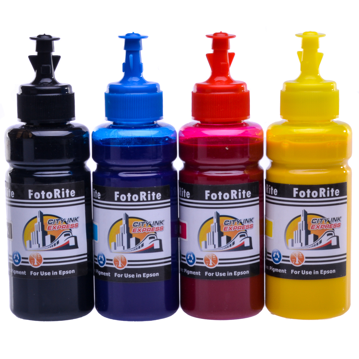 Cheap Multipack pigment ink refill replaces Epson WF-2520NF