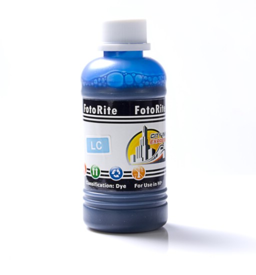 Cheap Photo Cyan dye ink refill replaces HP Psc HP 58 - C6658AN